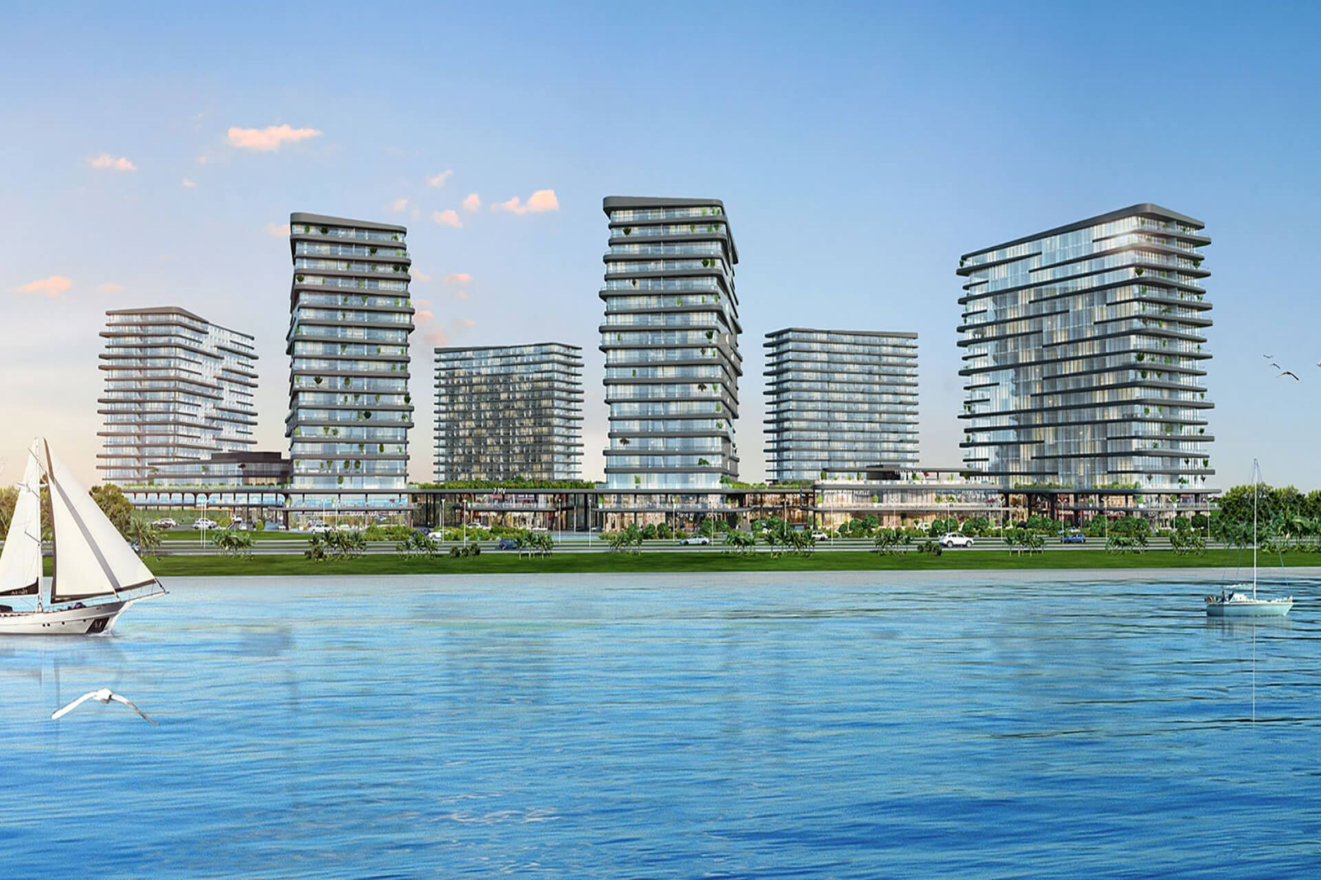 Investment apartments at the Zeytinburnu sea front