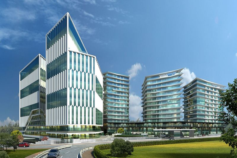Landmark project in Media Highway just metres from the new metro