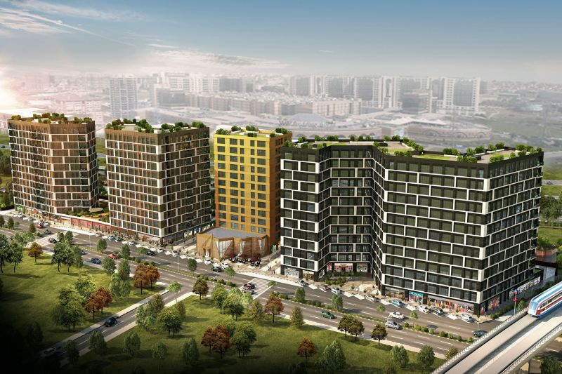Investment apartments across ataturk aiport and basinekspres highway