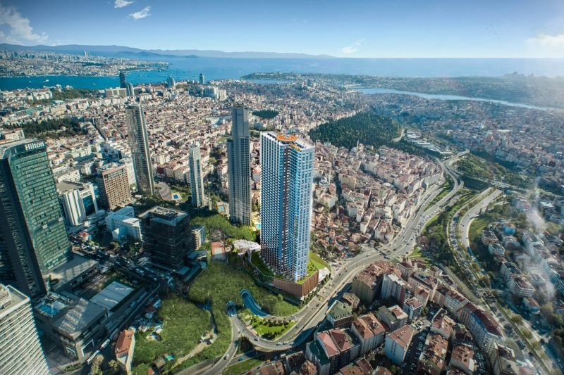 Luxurious Sisli residence with full Bosphorous views and 50 month payment plan